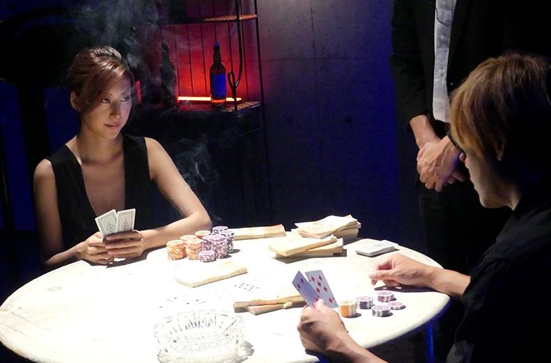 SHKD-819 Girl Gambler Black Rose Matsushita Saeko