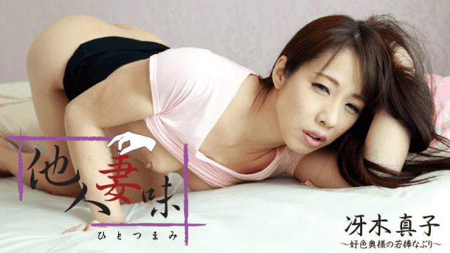 HEYZO-1219 Hitotsumami. Alluring Milf's Lusty Blow Job