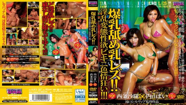 U & K AUKS-067 Big Tits Nasty Sexual Perversion Bikini Lust Crazy