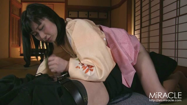 SM Miracle e0893 Maki Doggy dog In the middle of a roaring voice and a pant voice Miki Maki