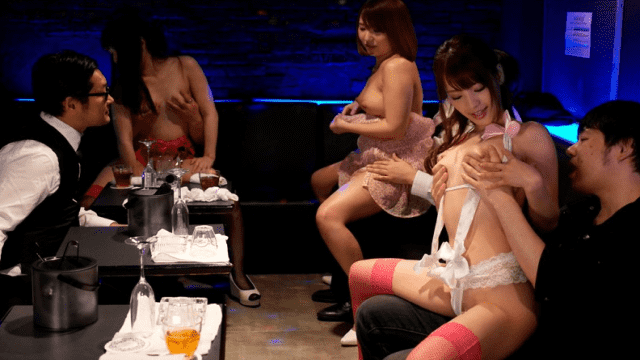 Idea Pocket IPX-005 Kana Momonogi sex party at the cafe dissipated nightclub