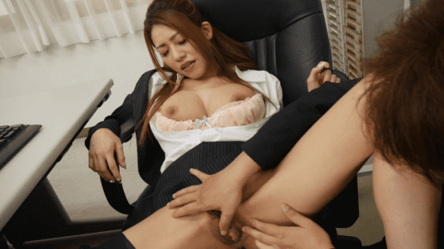 Caribbeancom 063018-696 Kitayama Kan Two people alone in office with beautiful lewd boss