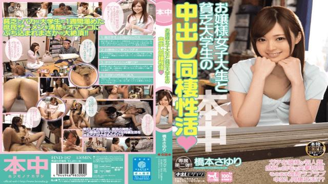 Honnaka HND-187 Hashimoto Sayuri Jav beauty Cohabitation Of Active Hashimoto Cum Lady College Student And A Poor College Student
