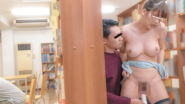 FHD Appachi AP-514A Library Couple lying night Cum inner Masculine