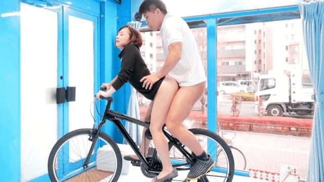 FHD SODCreate SDMU-787 Magic mirror Acme Bicycle Mama Chari Married lady handiest I bet absolutely everyone Is watching Me inside the Presence Of the public What i am loopy!A massive Squirting Cum Head Acme With A Harigata Piston