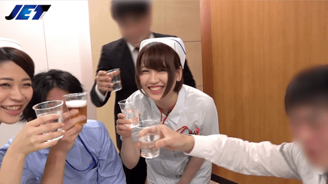 JET Video NKKD-081 Wife's Company Drinking Party Video 16 Nurse Married In-hospital Training Inauguration