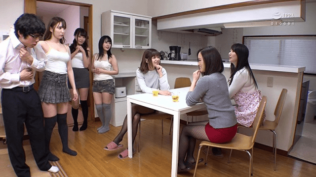 SWITCH SW-555 My Girl Friend And Her Elder Sister Got Together At Our House