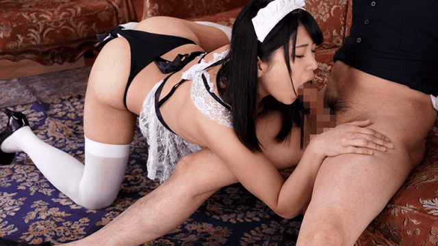Moodyz MIAE-261 My maid is in agony suction while feeling Blow gasp while cum Mari Takasugi