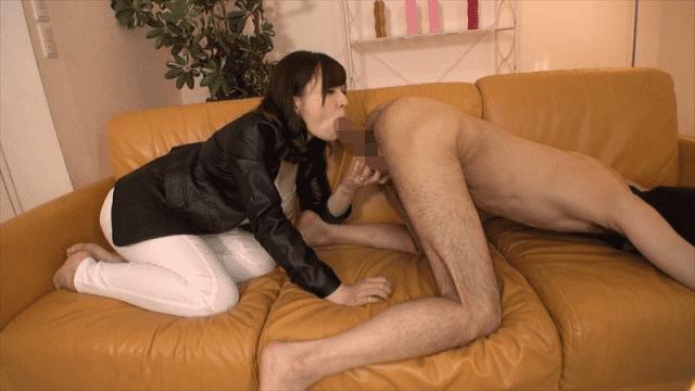 RealWorks XRW-511 Akiko Minemase Sucking Throat Backyard Sucking Blowjob