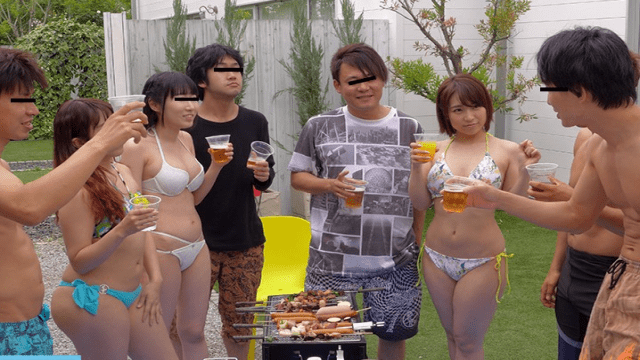 HonNaka HND-561 On That Day The Summer Camp Of The Circle Turned Into A Creampie Gangbang Event. Hato Tsubasa
