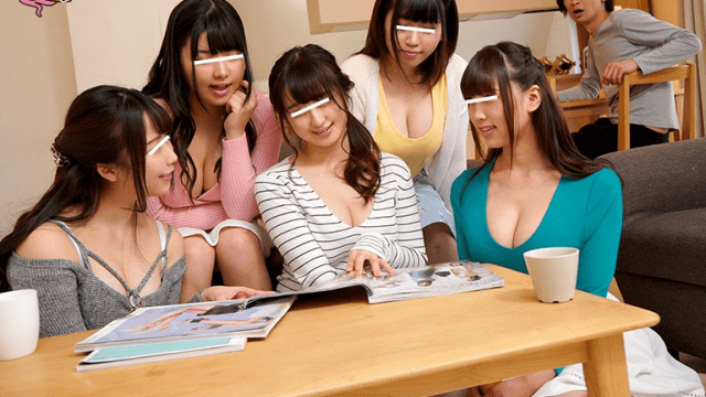 HHH Group GAPL-034 Five Sisters Suddenly Made Possible By Their Father is Remarriage A Rainy Day Life That I Was Longing For A Big Family